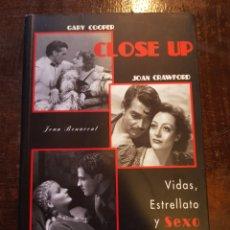Cine: JOAN BENAVET. CLOSE UP. VIDAS, ESTRELLATO Y SEXO EN HOLLYWOOD. Lote 122161384