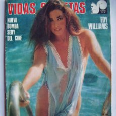 Cinéma: EDY WILLIAMS. REVISTA VIDAS SECRETAS. 1976.. Lote 122921847