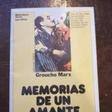 Cine: GROUCHO MARX. MEMORIAS DE UN AMANTE SARNOSO. Lote 124588230