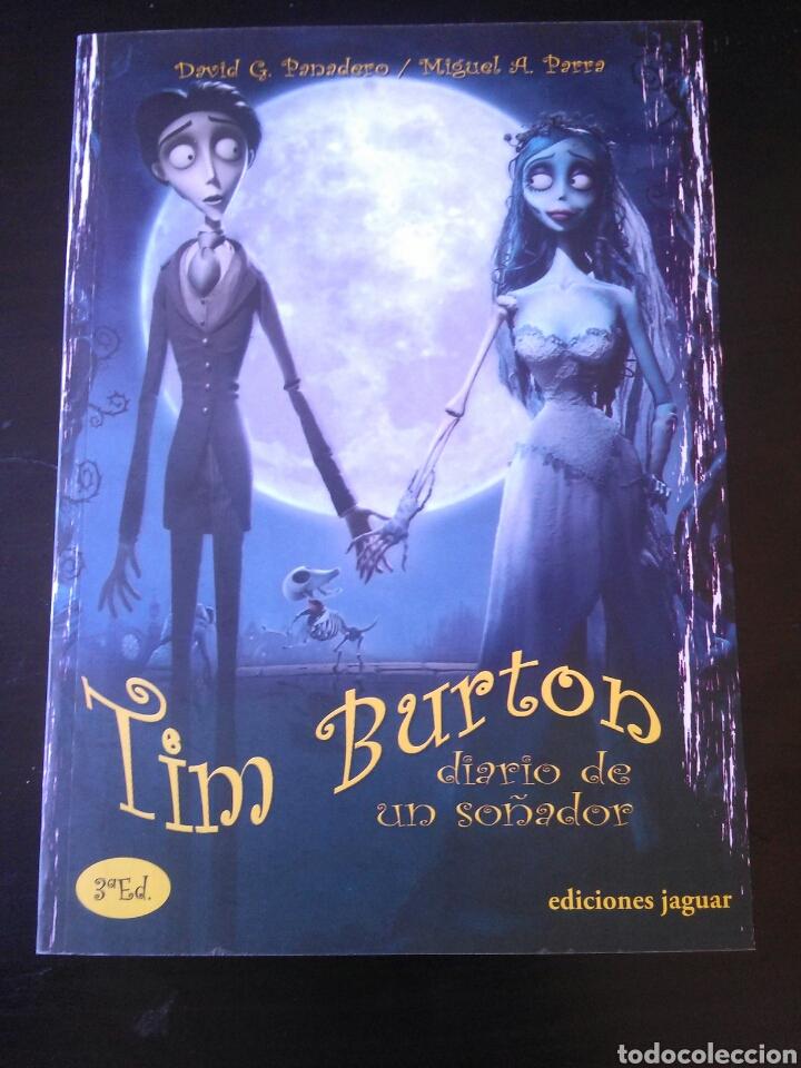 LIBRO TIM BURTON DIARIO DE UN SOÑADOR 2010 NUEVO RARO BIOGRAFIA (Cine - Biografías)