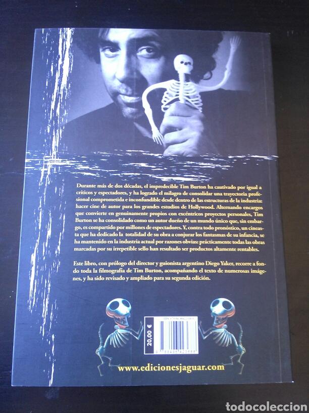 Cine: Libro Tim Burton diario de un soñador 2010 nuevo raro biografia - Foto 2 - 125380155