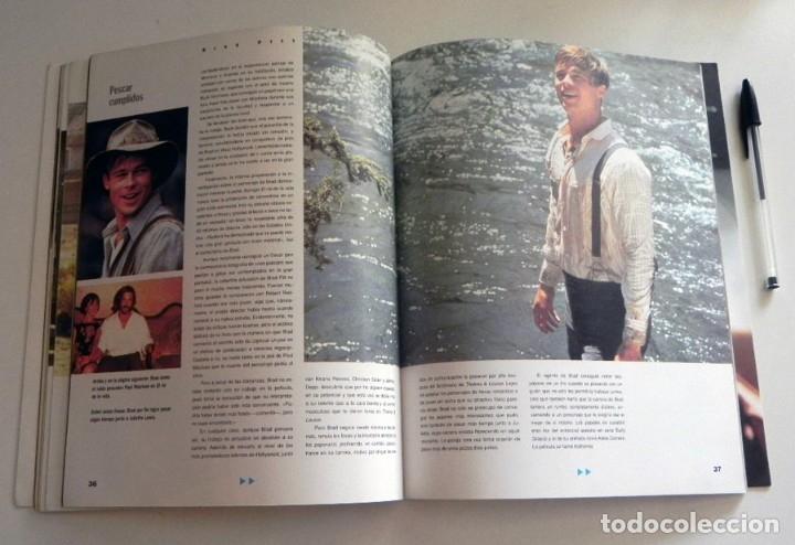Cine: BRAD PITT SU VIDA EN FOTOS LIBRO WESTBROOK ACTOR D EEUU DE CINE FOTOGRAFÍAS DEL ÍDOLO SÍMBOLO SEXUAL - Foto 9 - 125935147