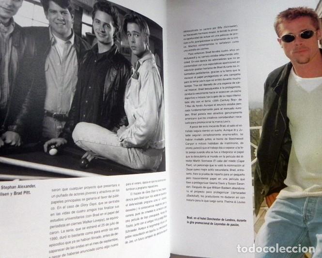 Cine: BRAD PITT SU VIDA EN FOTOS LIBRO WESTBROOK ACTOR D EEUU DE CINE FOTOGRAFÍAS DEL ÍDOLO SÍMBOLO SEXUAL - Foto 10 - 125935147