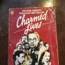 Cinema: MICHAEL KORDA. CHARMED LIVES. EN INGLÉS. Lote 126851699