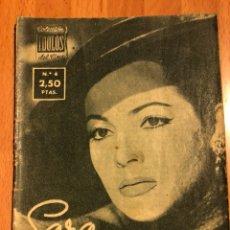 Cine: COLECCIÓN ÍDOLOS DEL CINE 4 SARA SARITA MONTIEL. Lote 126868594