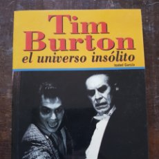 Cine: ISABEL GARCÍA. TIM BURTON, EL UNIVERSO INSÓLITO. MIDONS. Lote 127606750