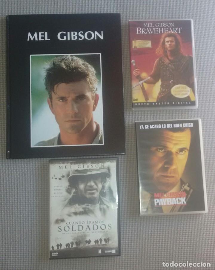 MEL GIBSON LIBRO Y DVDS CINE ACTOR. (Cine - Biografías)