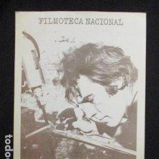 Cine: DOSSIER DANIEL POLLET FILMOTECA NACIONAL 1976. Lote 128684571