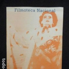 Cine: CUADERNOS DE LA FILMOTECA NACIONAL DE ESPAÑA. TÍTULO H. J. SYBERBERG (MAYO 1976). Lote 128684651