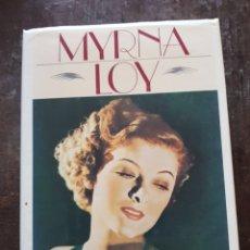 Cine: MYRNA LOY. BEING AND BECOMING. AUTOBIOGRAFÍA. EN INGLÉS. Lote 128848254