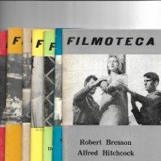 Cine: FILMOTECA, TEMPORADA 1972-73. LOTE DE 7 PROGRAMAS SE VENDEN SUELTOS A 8 €. UNIDAD.. Lote 129680875
