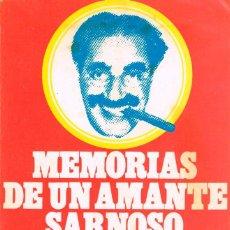 Cine: GROUCHO MARX: MEMORIAS DE UN AMANTE SARNOSO. Lote 131349802