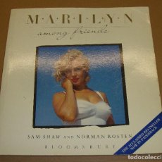 Cine: LIBRO MARILYN AMONG FRIENDS. Lote 132645746