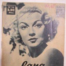 Cine: COLECCIÓN ÍDOLOS DEL CINE. Nº 12. LANA TURNER. 1958. Lote 133074954