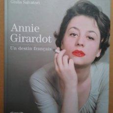 Cine: CINE ANNIE GIRARDOT LIBRO UN DESTIN FRANÇAIS. Lote 137114042
