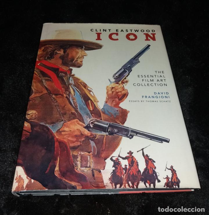 LIBRO. CLINT EASTWOOD. ICON. DAVID FRANGIONI, 2009, INSIGHT EDITIONS (Cine - Biografías)