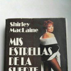 Cine: MIS ESTRELLAS DE LA SUERTE SHIRLEY MCLAINE. Lote 140190452