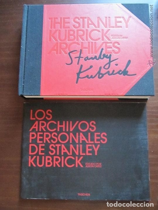 STANLEY KUBRICK - ARCHIVOS PERSONALES / ED. TASCHEN + 9 DVD ¡¡ ENVIO GRATIS¡¡ (Cine - Biografías)