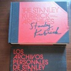 Cine: STANLEY KUBRICK - ARCHIVOS PERSONALES / ED. TASCHEN + 9 DVD ¡¡ ENVIO GRATIS¡¡. Lote 50479764