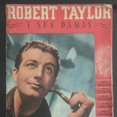 Cine: ROBERT TAYLOR LIBRO DE 63 HOJAS ROBERT TAYLOR Y SUS DAMAS. Lote 143048590