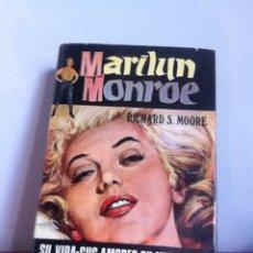 Cine: MARILYN MONROE. RICHARD S.MOORE 1973. Lote 145571509