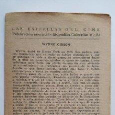 Cine: LAS ESTRELLAS DEL CINE, COLECCION BIOGRAFIAS Nº 22. Lote 145845350