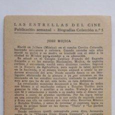Cine: LAS ESTRELLAS DEL CINE, COLECCION BIOGRAFIAS Nº 5. Lote 145845658