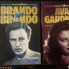 Cine: LOTE LIBROS - MARLON BRANDO - AVA GARDNER - FOTOGRAMAS - COLECCION STARS. Lote 147835706