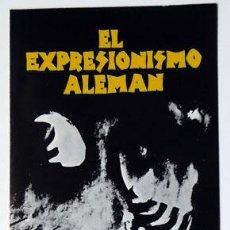 Cine: CINE DÍPTICO CICLO EXPRESIONISMO ALEMÁN 1985 CAJA AHORROS PROVINCIAL DE ALICANTE . Lote 149233918