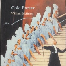 Cine: COLE PORTER. WILLIAM MCBRIEN. 635 PAGINAS. AÑO 1999. Lote 154271782