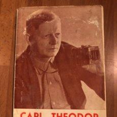 Cine: CARL THEODOR DREYER.FILMOTECA NACIONAL DE ESPAÑA.MADRID 1964. Lote 154568966