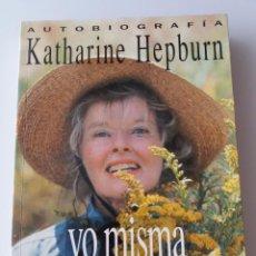 Cine: KATHARINE HEPBURN AUTOBIOGRAFIA YO MISMA. Lote 155560158