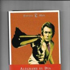 Cine: ALÉGRAME EL DÍA, AÑO 1999, JESÚS PALACIOS, CONTIENE 258. PÁGINAS Y FOTOGRAFIAS ESPASA CALPE, S. A.. Lote 155588170