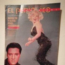 Cine: SUPLEMENTO DOMINICAL EL PERIÓDICO - MARILYN MONROE - Y ELVIS PRESLEY EN EL RECUERDO - AÑO 1987. Lote 156011442