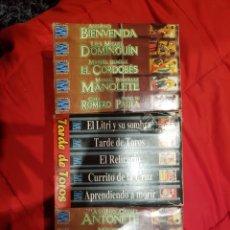 Cinema: TOREROS DE LA HISTORIA 15 VHS IMPECABLES.. Lote 156449022