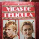 Cine: ROBERT REDFORD MERYL STREEP VIDAS DE PELÍCULA Nº 1 AÑO 1 NUEVO 1986 BRUGUERA. Lote 158033342