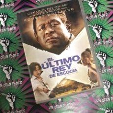 Cine: EL ÚLTIMO REY DE ESCOCÍA (DVD). Lote 160542222