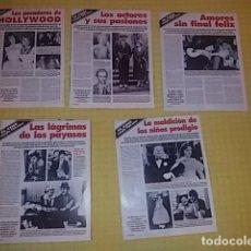 Cine: EL CINE CUMPLE 100 AÑOS - ANECDOTAS - ACTORES Y ACTRICES (LEER LISTA). Lote 160630454