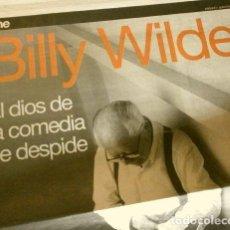 Cine: MUERE BILLY WILDER (NOTICIA DE PRENSA ORIGINAL MAR 2002) PERIODICO (SOLO 3 HOJAS DEL REPORTAJE). Lote 160847254