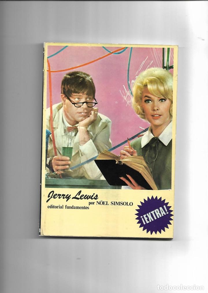 JERRY LEWIS, AÑO 1974. CONTIENE 162. PÁGINAS EDITORIAL FUNDAMENTOS (Cine - Biografías)