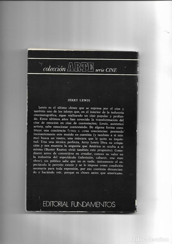Cine: Jerry Lewis, Año 1974. contiene 162. páginas Editorial Fundamentos - Foto 2 - 168983292