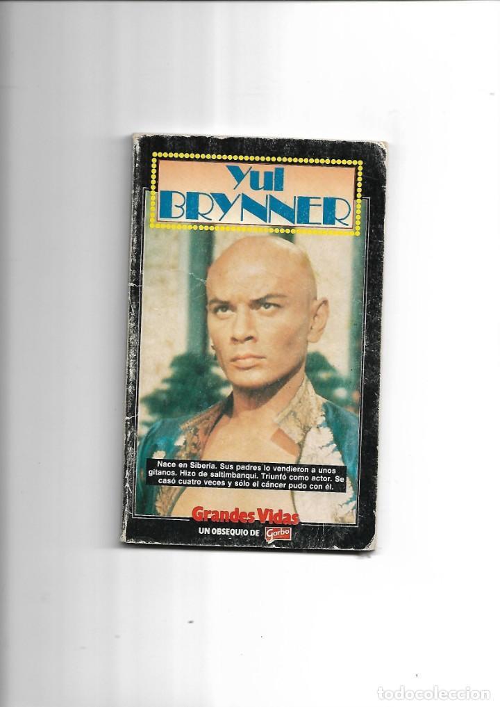 YUL BRYNNER, GRANDES VIDAS, AÑO 1985. CONTIENE 66 PÁGINAS PUBLICACIONES HERES, S.A. (Cine - Biografías)