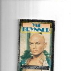 Cine: YUL BRYNNER, GRANDES VIDAS, AÑO 1985. CONTIENE 66 PÁGINAS PUBLICACIONES HERES, S.A.. Lote 168986836