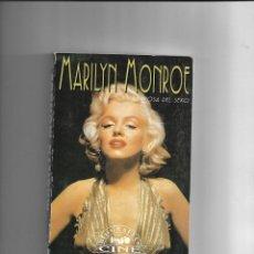 Cine: MARILYN MONROE, LA DIOSA DEL SEXO, BIOGRAFIAS DE CINE, LUIS GASCA. AÑO 1994. CONTIENE 256 PÁGINAS.. Lote 169324176