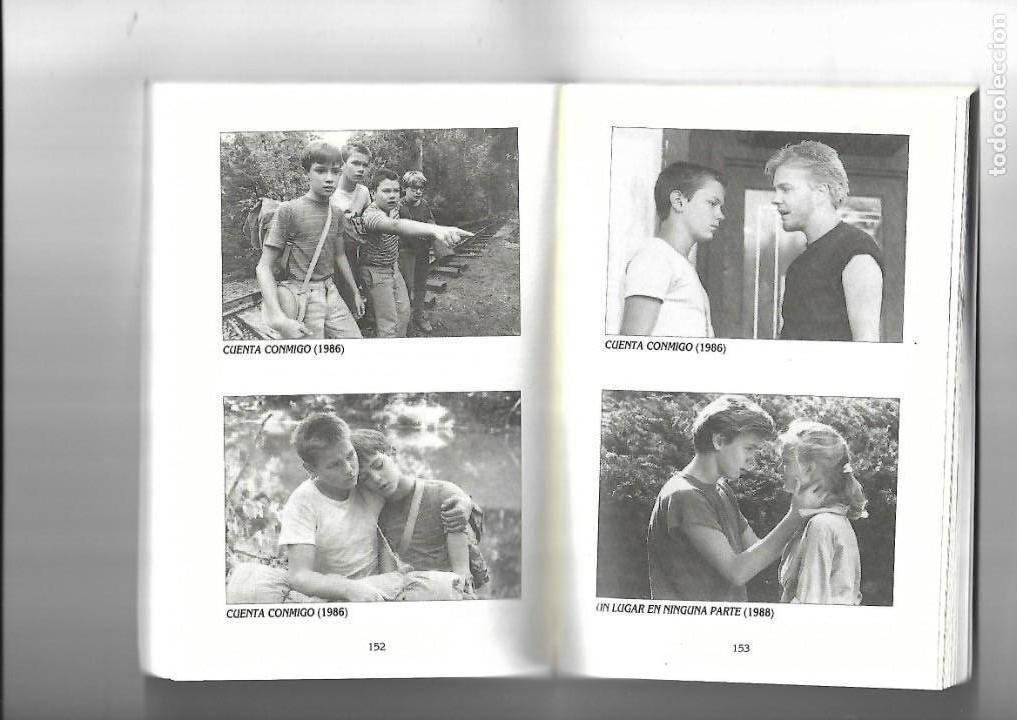 Cine: River Phoenix, una vida corta, Biografias de Cine, Luis Gasca. año 1994. contiene 256 páginas. - Foto 3 - 169325280