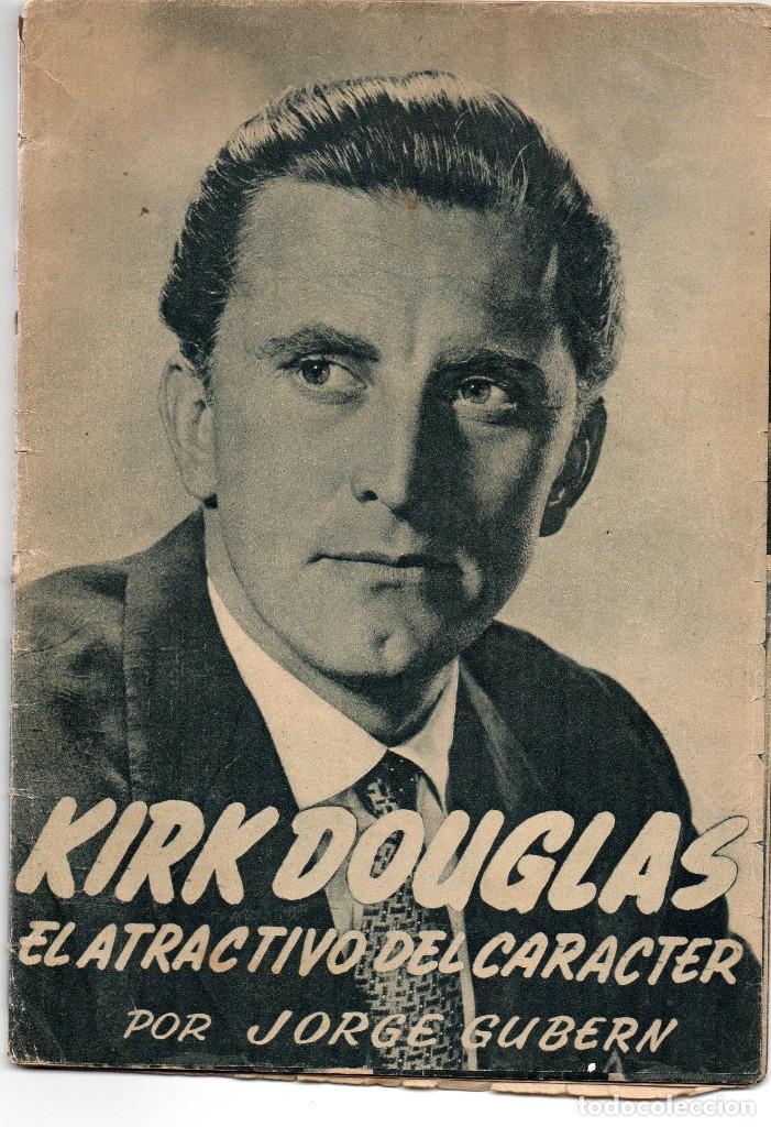 KIRK DOUGLAS, EL ATRACTIVO DEL CARACTER (Cine - Biografías)