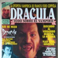 Cine: DRACULA - REVISTA MONOGRÁFICA SOBRE EL VAMPIRO. 1993. Lote 171264422