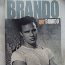 Cine: BRANDO POR BRANDO OPINIONES DEL MITO EN FOTOGRAMAS LIBRO EN BUENESTADO. Lote 173589963