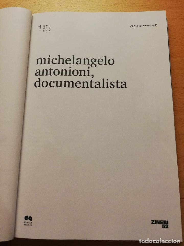 Cine: MICHELANGELO ANTONIONI, DOCUMENTALISTA. CARLO DI CARLO (ED.) - Foto 2 - 173819958