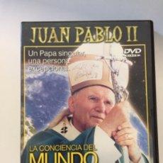 Cine: DVD JUAN PABLO II - LA CONCIENCIA DEL MUNDO . Lote 173848577